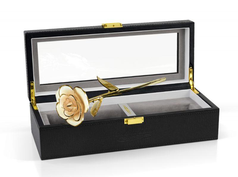 beige rose gift