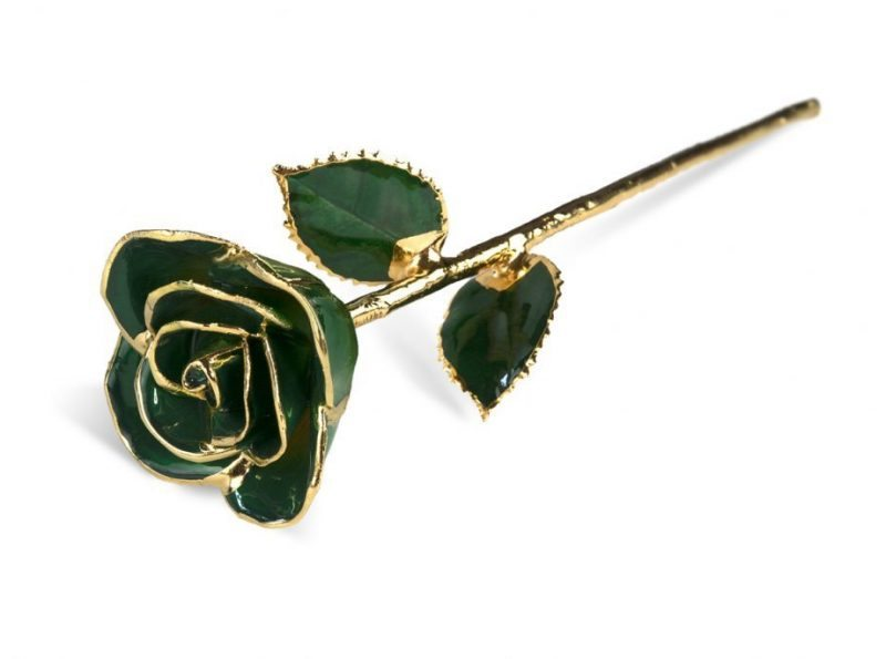 Light Green Rose without Premium Display Case - Infinity Rose
