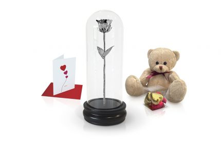 platinum rose dome gift