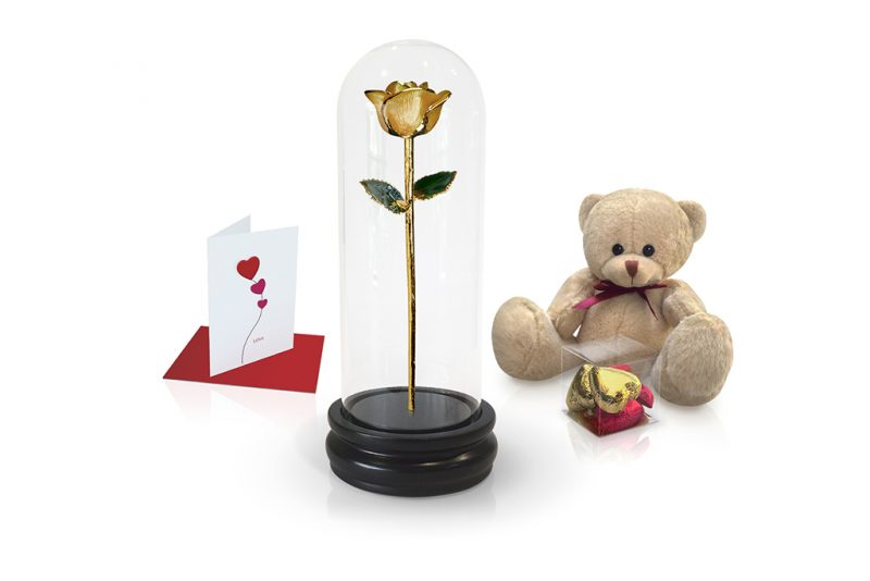 yellow rose dome gift