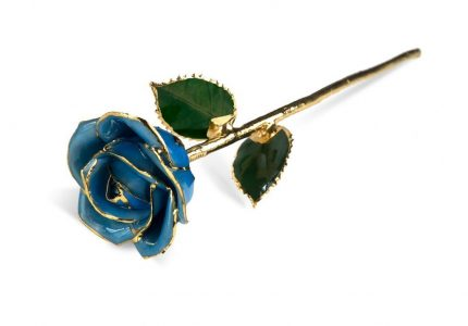 Light Blue Rose Gift without Premium Display Case - Infinity Rose