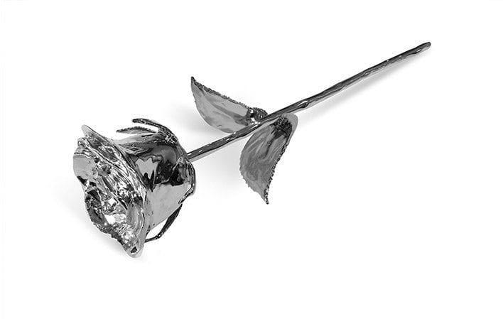Platinum Rose Gift without Premium Display Case - Infinity Rose