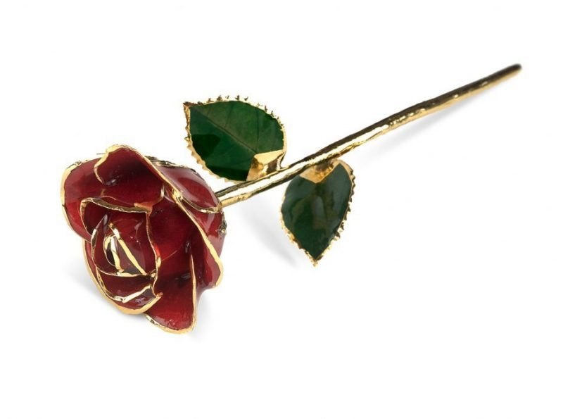 Red Rose Gift without Premium Display Case - Infinity Rose