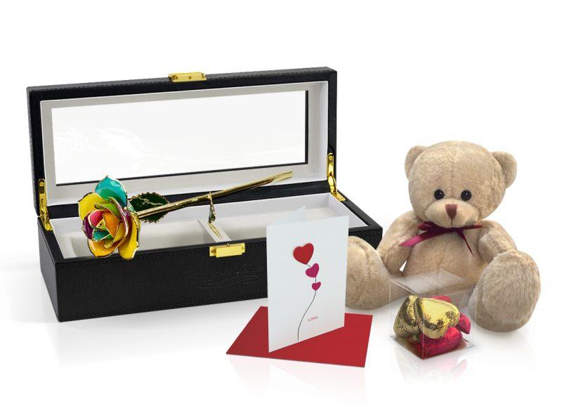 spectrum rose gift