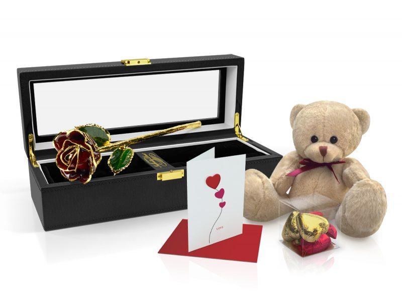 Burgundy-Rose-Gift-Set