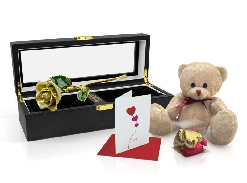Light-Green-Rose-Gift-Set