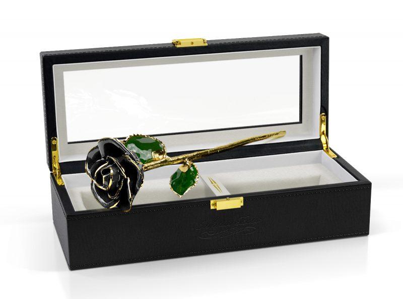 black rose gift