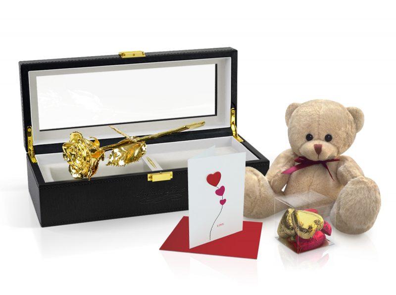 gold rose gift