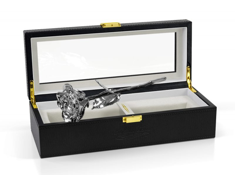 platinum rose gift