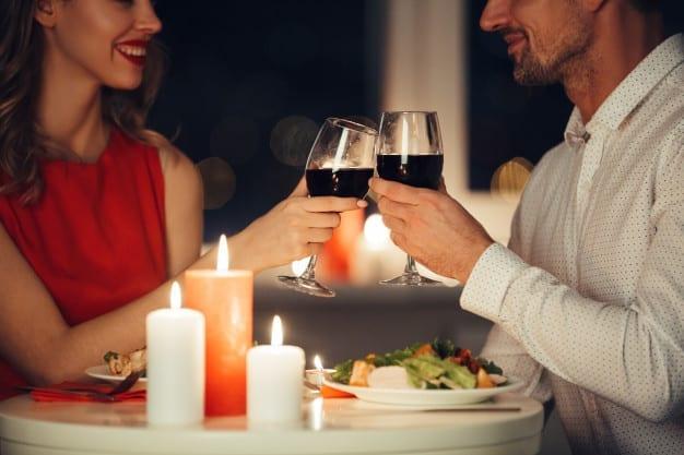 couple-lovers-having-romantic-dinner